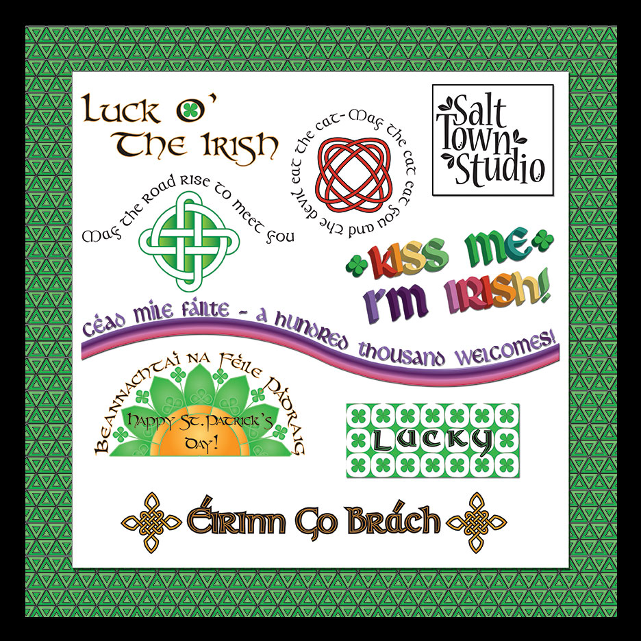 CelticZing Word Art