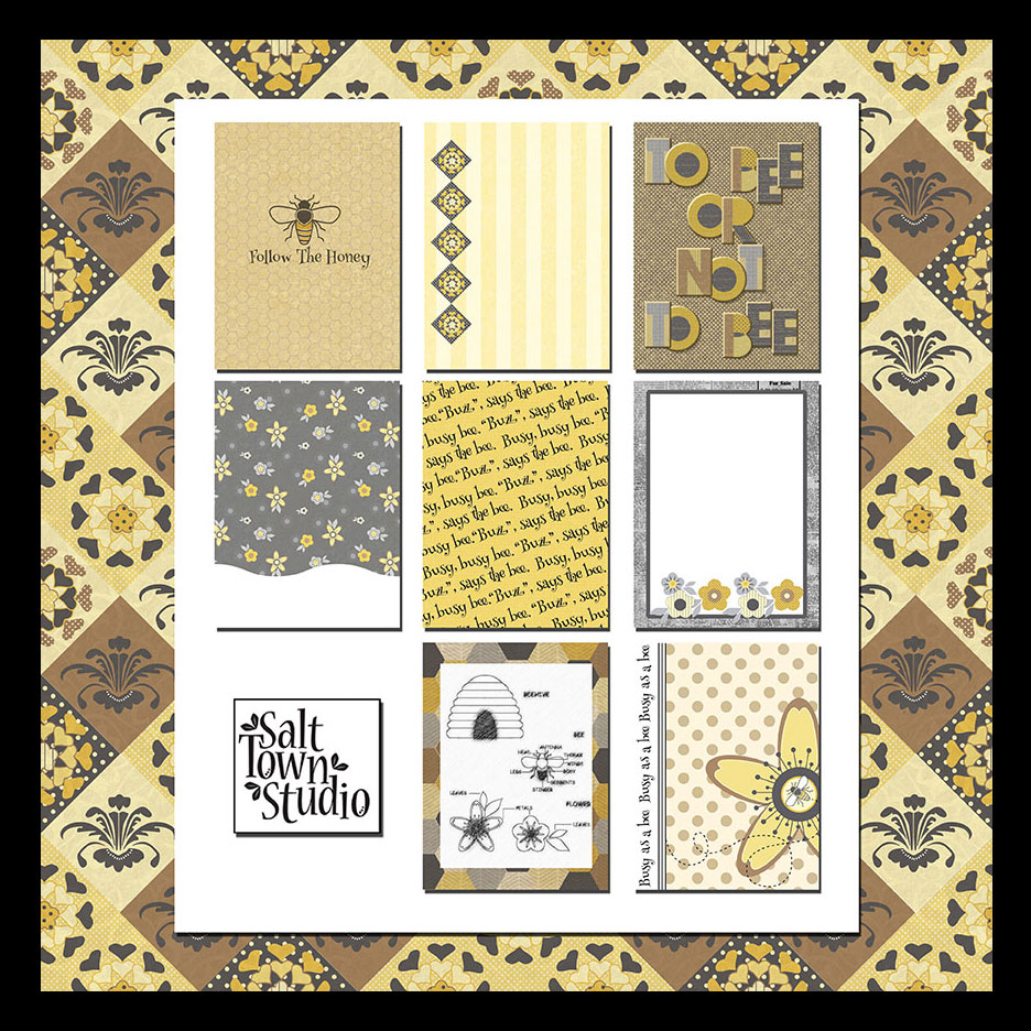 Flight of the Bumble Bee Journal Cards