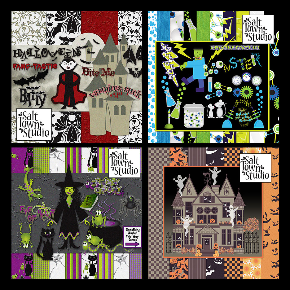 Halloween Haunts Collection