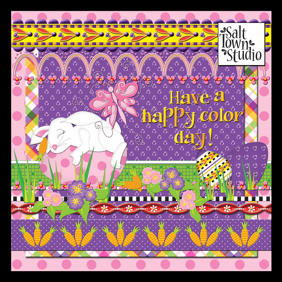 Silly Rabbits: Happy Colors