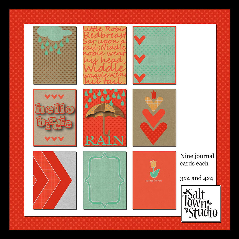 Hello Birdie Journal Cards